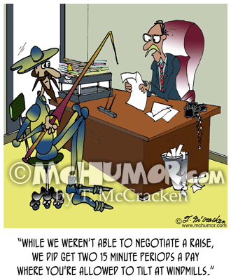 Quixote Cartoon7804