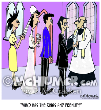 Prenup Cartoon 7899