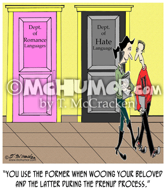 Prenup Cartoon 7922