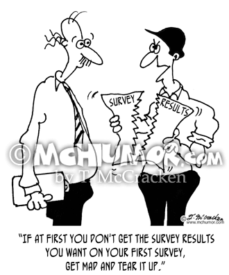 Survey Cartoon 7989