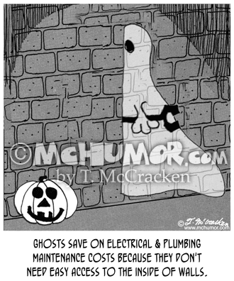Ghost Cartoon 7992