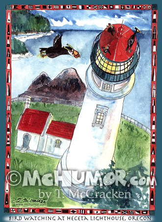 Light House Cartoon 8007
