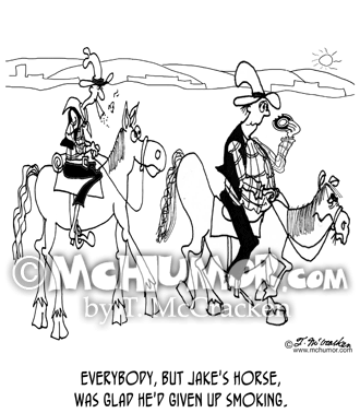 Cowboy Cartoon 8067