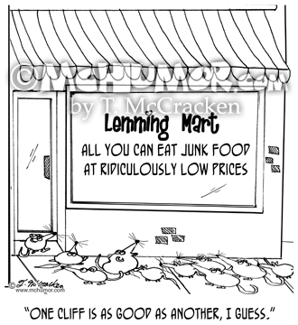 Lemming Cartoon 8087