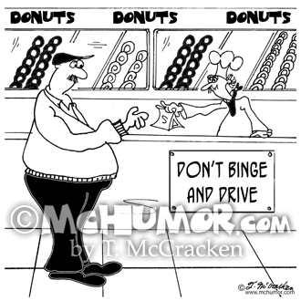 Donut Cartoon 8105