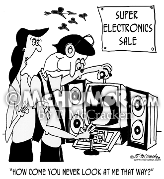 Electronics Cartoon 8129