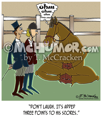 Horse Cartoon 8139