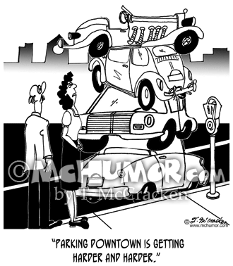Parking Cartoon 8264