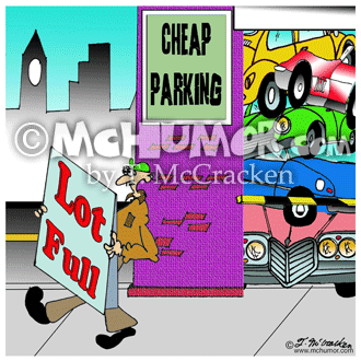 Parking Cartoon 8278