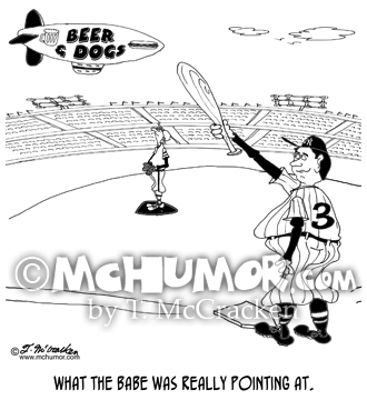 Baseball Cartoon 8245