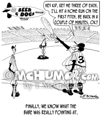Baseball Cartoon 8286