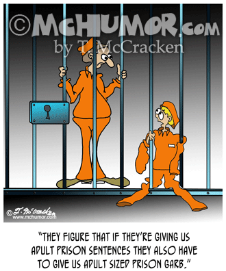 Prison Cartoon 8308