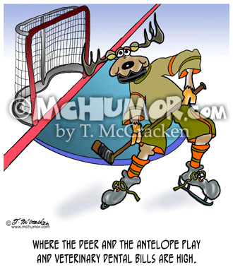 Hockey Cartoon 8318