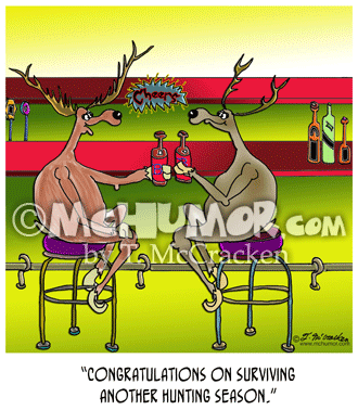 Hunting Cartoon 8321