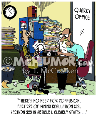 Quarry Cartoon 8331