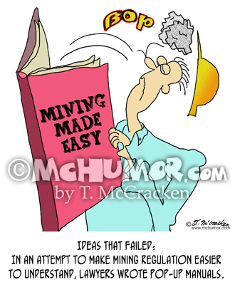 Mining Cartoon 8334