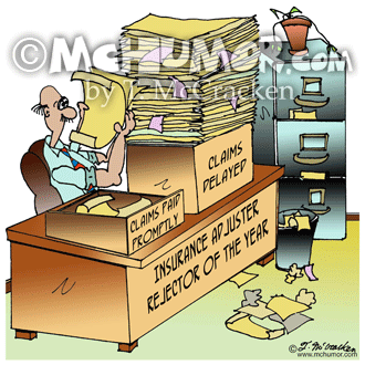 Insurance Cartoon 8361