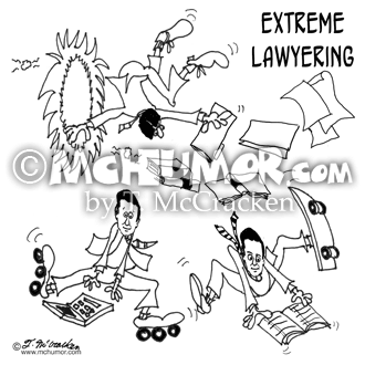 Lawyer Cartoon 8366