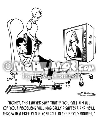 Lawyer Cartoon 8382