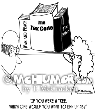 Tax Cartoon 8460