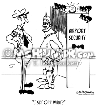 Security Cartoon 8483