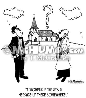 Clergy Cartoon 8495
