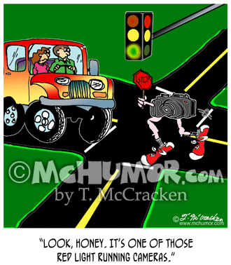 Traffic Cartoon 8531