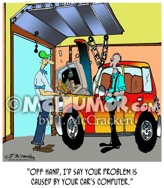 Car Repair Cartoon 8532
