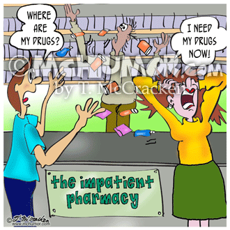 Pharmacy Cartoon 8602