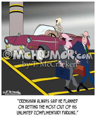 Parking Cartoon 8608