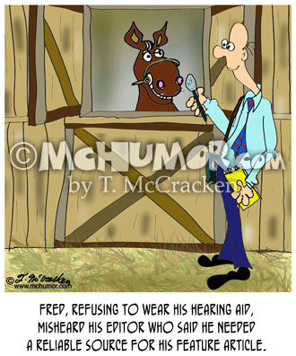 Horse Cartoon 8609