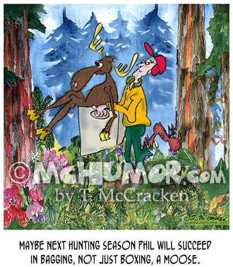 Moose Cartoon 8634