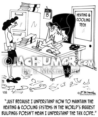 HVAC Cartoon 8681