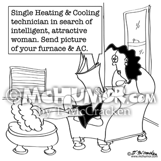 HVAC Cartoon 8682