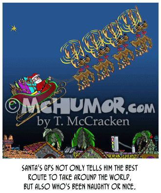 Christmas Cartoon 8691