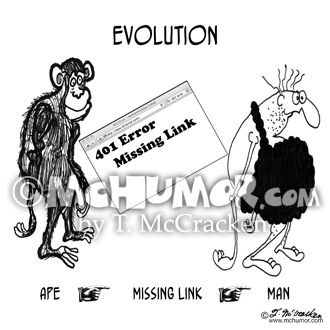 Evolution Cartoon 8814