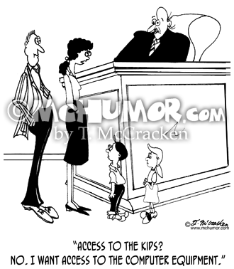 Divorce Cartoon 8850