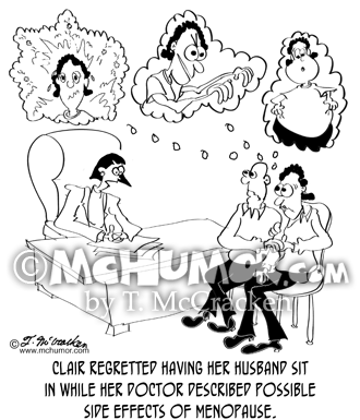 Menopause Cartoon 8859