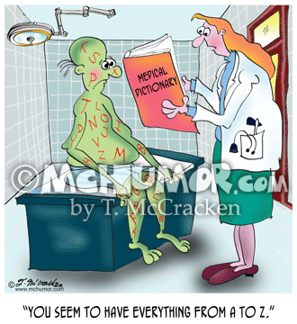 Disease Cartoon 8905