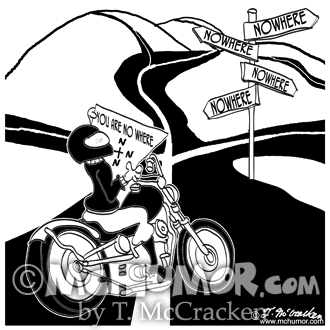 Motorcycle Cartoon 8911