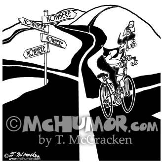 Bike Cartoon 8925