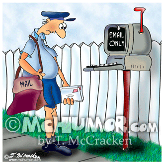 Mail Cartoon 8945