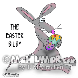 Bilby Cartoon 8952