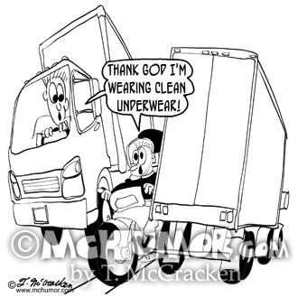 Truck Cartoon 8965
