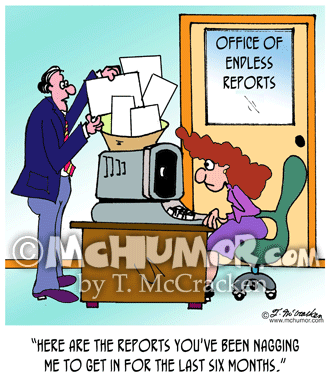 Report Cartoon 8988