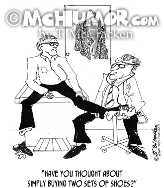 Shoe Cartoon 9042