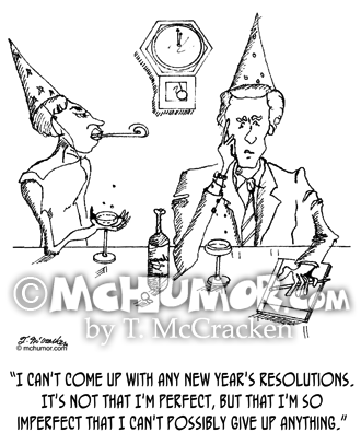 New Years Cartoon 1174