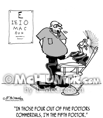 Eye Doctor Cartoon 3071
