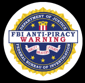 FBI Anti-Piracy Warning