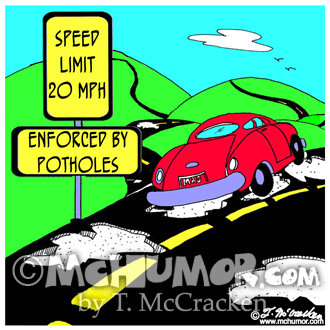 Road Construction Cartoon 6533